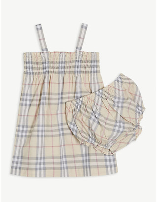 Burberry Joan check dress and bloomers set 1-18 months