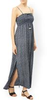 Monsoon Camie Printed Maxi Bandeau Dress