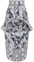 Thom Browne Front Fin Pencil Skirt