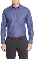 David Donahue Plaid Sport Regular Fit Shirt