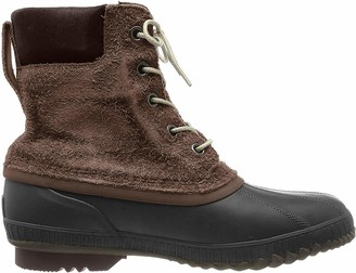 Sorel Men's Cheyanne II Snow Boot Tobacco Black 13 D US