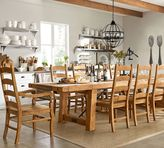 Pottery Barn Benchwright Extending Dining Table, Vintage Spruce