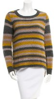 Elizabeth and James Striped High-Low Sweater