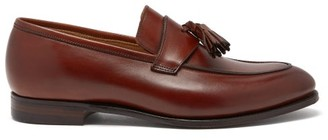 Crockett Jones Crockett & Jones - Sophie Tasselled Leather Loafers - Tan
