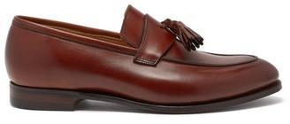 Crockett Jones Crockett & Jones - Sophie Tasselled Leather Loafers - Womens - Tan