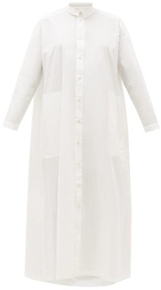 Toogood - The Draughtsman Cotton Shirtdress - Womens - White