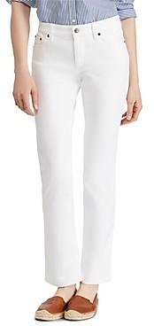 Ralph Lauren Ralph Modern Straight Curvy Jeans in White