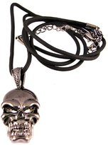 Summit Evil Skull Head Pendant - Collectible Medallion Necklace Accessory