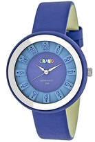 Crayo Unisex Blue Strap Watch-Cracr3406