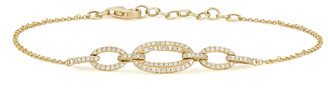 Anne Sisteron Three Link Chain Bracelet