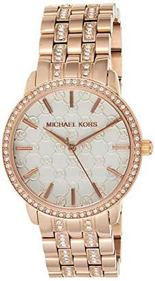 Michael Kors Women's MK3183 Nini Rose Gold-Tone Stainless Steel Watch