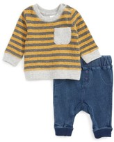 Nordstrom Infant Boy's Stripe T-Shirt & Pants Set