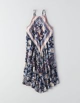 American Eagle AEO Printed Woven Dress