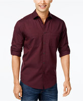 Alfani Men's Long-Sleeve Shirt, Classic Fit, Only at Macy's