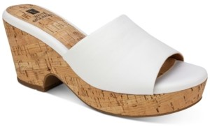 White Mountain Copeland Wedge Sandals Women's Shoes