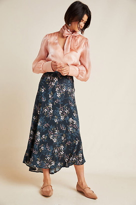 Velvet by Graham & Spencer Shay A-Line Midi Skirt By in Assorted Size XL