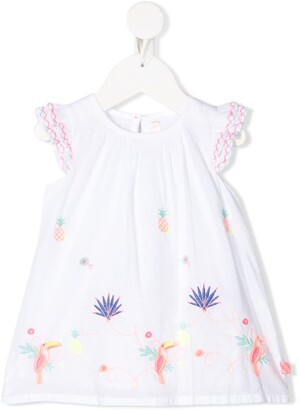 Billieblush Embroidered Dress