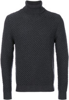 Eleventy textured roll neck jumper - men - Virgin Wool - M