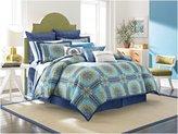 Nostalgia Home Fashions Blue Riviera Duvet, King - Blue - King
