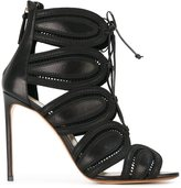 Francesco Russo high-heel cage sandals