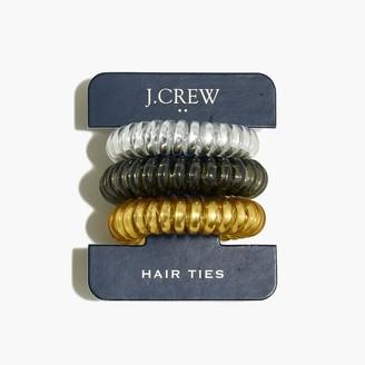 J.Crew Three-pack spiral hair ties