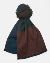 SIGNET Checked twotone scarf