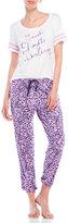 Juicy Couture Leopard Print Pajama Set