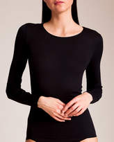 Hanro Cotton Seamless Long Sleeve Top