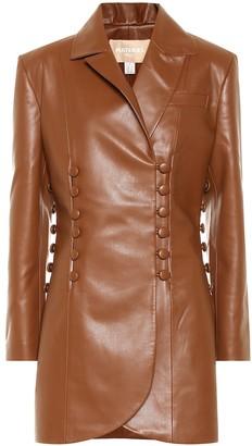 Matã©Riel Tbilisi Faux leather jacket
