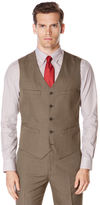 Perry Ellis Subtle Pattern Twill Suit Vest