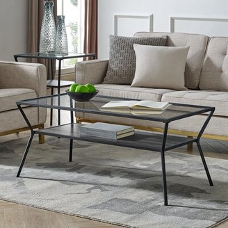 Howell Coffee Table with Storage Williston Forge Color: Slate Gray