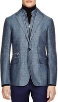 Corneliani Herringbone Regular Fit Sport Coat