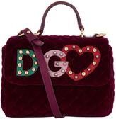 Dolce & Gabbana Velvet Shoulder Bag