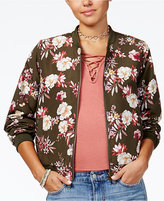 Hippie Rose Juniors' Reversible Bomber Jacket