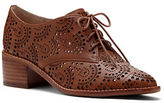 Louise et Cie Annacis Perforated Leather Derby Shoes
