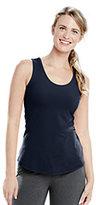 Lands' End Women's Active Tank Top-Electric Blue