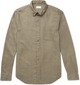 Club Monaco Button-Down Collar Linen Shirt