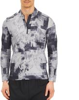 adidas Men's Long Sleeve Printed Activewear Shirt