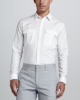 Theory Teric Two-Pocket Sport Shirt