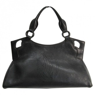 Cartier Marcello Black Leather Handbags