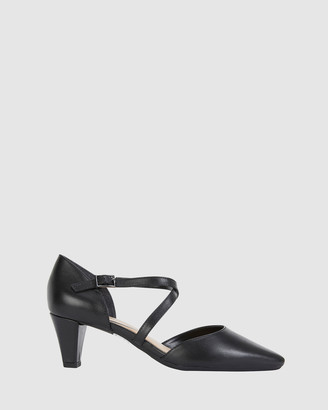 Easy Steps - Women's Black Open Toe Heels - Adison - Size One Size, 8 at The Iconic