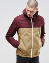 Element Alder Jacket With Hood In Colour Block