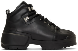 Pierre Hardy Black Trap Lace-Up Boots