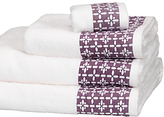 John Lewis Leckord Ditton Border Towels
