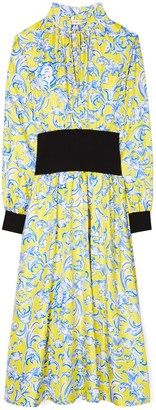 Tory Burch Rib-Waist Dress