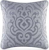 "J Queen New York Harrison Chrome 20"" Square Decorative Pillow"