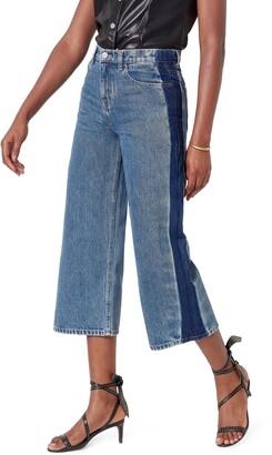Joie Wilmer Wide Leg Crop Jeans