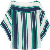 Chloé Striped silk top