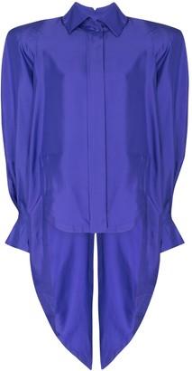 Montana structured shoulder blouse