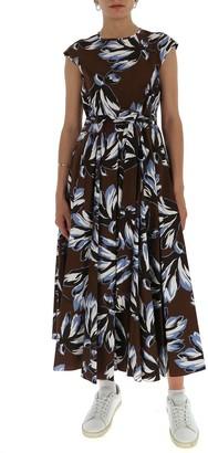 'S Max Mara Floral Maxi Dress
